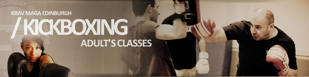 Krav Maga Edinburgh Adult Kickboxing Classes